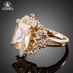 AZORA-Fancy-Brand-Design-Gold-Color-Stellux-Austrian-Crystal-Ring-TR0086-1