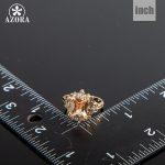 AZORA-Fancy-Brand-Design-Gold-Color-Stellux-Austrian-Crystal-Ring-TR0086-2