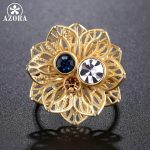 AZORA-Multicolor-Austrian-Crystal-Flower-Adjustable-Size-Ring-for-Women-Wholesale-Fashionable-Wedding-Jewelry-Accessories-TR0224-1