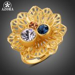 AZORA-Multicolor-Austrian-Crystal-Flower-Adjustable-Size-Ring-for-Women-Wholesale-Fashionable-Wedding-Jewelry-Accessories-TR0224