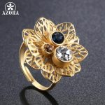 AZORA-Multicolor-Austrian-Crystal-Flower-Adjustable-Size-Ring-for-Women-Wholesale-Fashionable-Wedding-Jewelry-Accessories-TR0224-2