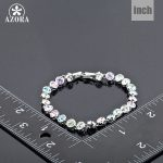 AZORA-White-Gold-Color-Stellux-Austrian-Crystal-Multicolour-Round-End-to-End-Bracelet-TS0005-2