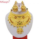 Adixyn-Indian-Big-Size-Jewelry-Sets-For-Women-Gold-Color-Long-Necklace-Earrings-African-Dubai-Arab