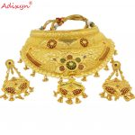 Adixyn-Indian-Big-Size-Jewelry-Sets-For-Women-Gold-Color-Long-Necklace-Earrings-African-Dubai-Arab-2