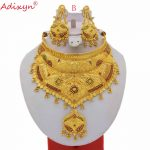 Adixyn-Indian-Big-Size-Jewelry-Sets-For-Women-Gold-Color-Long-Necklace-Earrings-African-Dubai-Arab-4