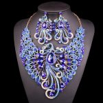 Big-Crystal-Bridal-Jewelry-Sets-Wedding-Party-Costume-Accessory-Indian-Necklace-Earrings-for-bride-Peacock-jewellery-2