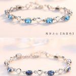 Blue-Topaz-Bracelets-Female-Real-925-Sterling-Silver-Deep-Blue-Sapphire-Color-Gemstone-Bracelet-for-Student-3