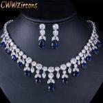 CWWZircons-Luxury-Dark-Blue-Women-Wedding-Party-Dress-Jewellery-Big-Dangle-Drop-Bridal-CZ-Necklace-Earrings