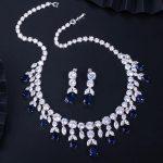 CWWZircons-Luxury-Dark-Blue-Women-Wedding-Party-Dress-Jewellery-Big-Dangle-Drop-Bridal-CZ-Necklace-Earrings-5