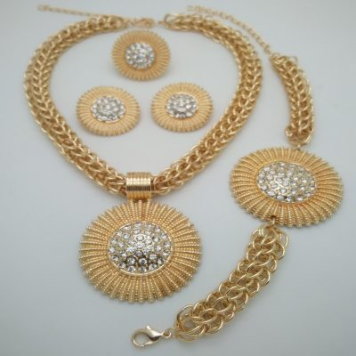 Jewelry Sets African Costume Zinc Alloy