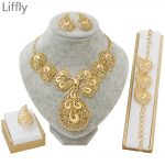 Liffly-Dubai-Gold-Jewelry-Sets-for-Women-Bridal-Jewelry-Butterfly-Necklace-Earrings-Fashion-Wedding-Bridesmaid-Jewelry