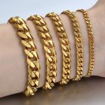Personalized-Women-s-Men-s-Bracelet-Stainless-Steel-Cuban-link-Chain-Bracelets-Gold-Silver-Color-Fashion
