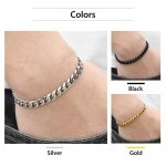 Personalized-Women-s-Men-s-Bracelet-Stainless-Steel-Cuban-link-Chain-Bracelets-Gold-Silver-Color-Fashion-3