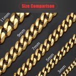 Personalized-Women-s-Men-s-Bracelet-Stainless-Steel-Cuban-link-Chain-Bracelets-Gold-Silver-Color-Fashion-4
