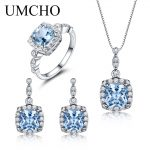 UMCHO-925-Sterling-Silver-Jewelry-Set-Sky-Blue-Topaz-Ring-Pendant-Stud-Earrings-For-Women-Wedding-1