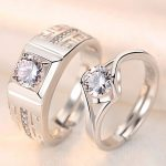 2Pcs-pair-classic-resizeable-Couple-wedding-engagement-Rings-crystal-adjustable-Rings-Valentine-Day-Gift-wholesale-CZ